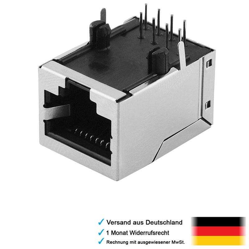 Ethernet Stecker Cat  Abgeschirmt